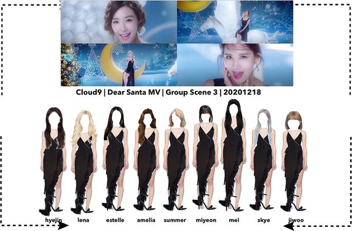 Cloud9 (구름아홉) | Dear Santa MV Scene 6 | 20201218