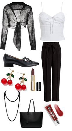 Black & White Restaurantcore Uniform