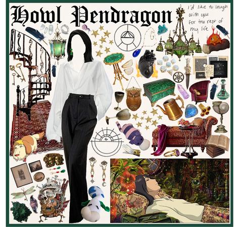 HOWL'S MOVING CASTLE: Howl Pendragon