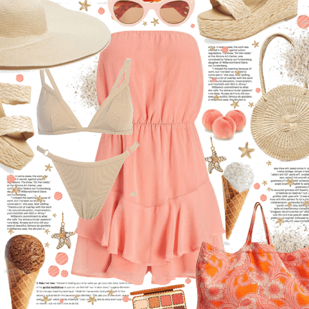 peaches & sand