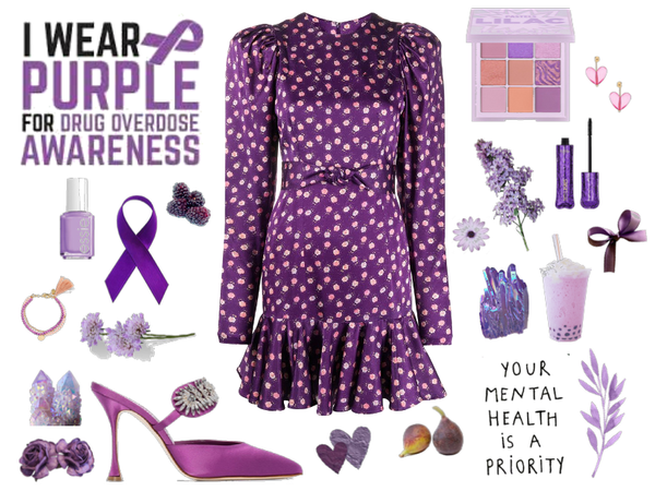 Wear Purple for Drug Awareness