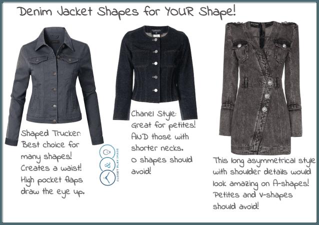 Denim Jacket Shapes for YOUR Shape! (Part 2)
