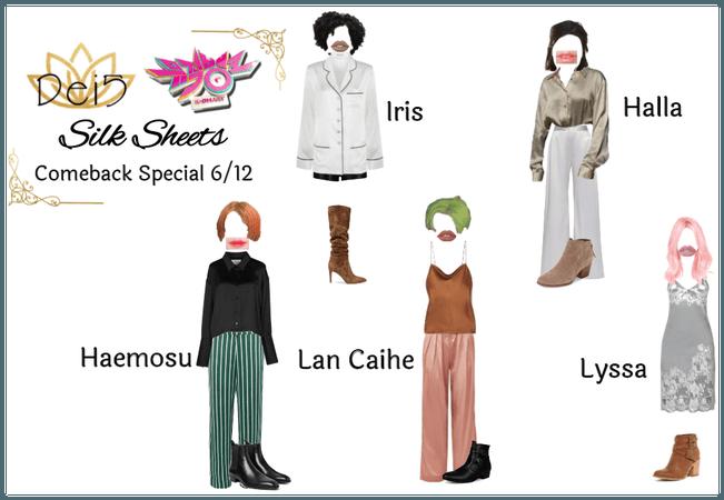 Dei5 Silk Sheets Comeback Special Music Bank