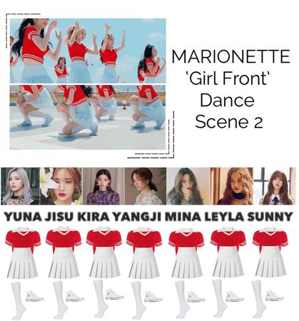 {MARIONETTE} 'Girl Front' M/V Dance Scene 2