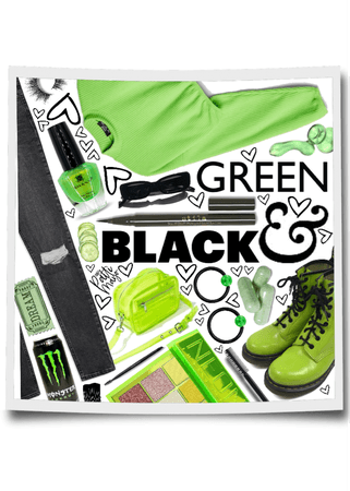 GREEN & BLACK 🟢⚫️