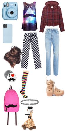 quirky 2014 tumblr girl