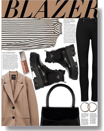 brown blazer 🤎