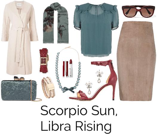 Scorpio Sun, Libra Rising