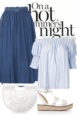 cool blue on a hot summer's night