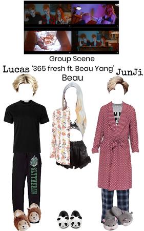 Shadow '365 Fresh ft. Beau Yang' Group Scene