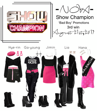 -NOVA- 'Bad Boy' Show Champion Stage