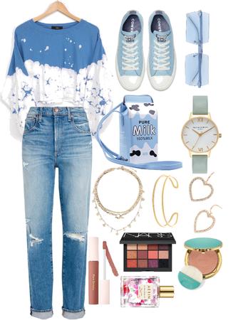 Blue walk