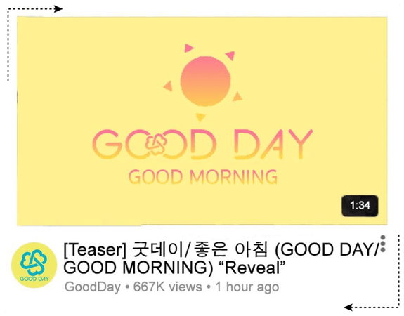 GOOD DAY (굿데이) [GOOD MORNING SUBUNIT ANNOUNCEMENT]