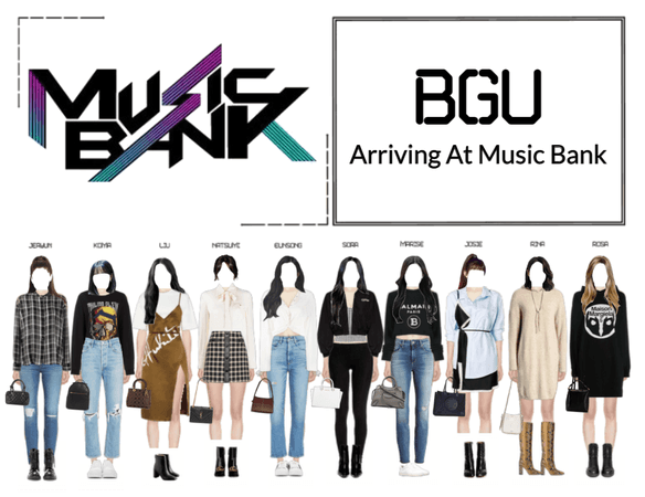 BGU Arriving At Music Bank