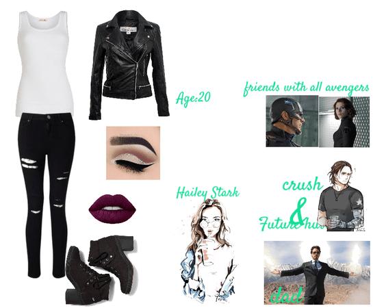 First O.C. : Hailey Stark