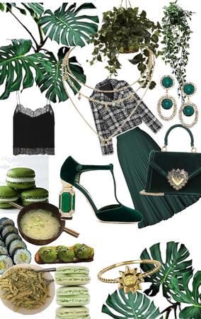 Girly in Green