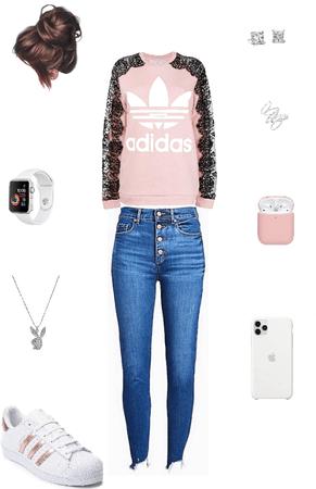 Pink adidas 🌸