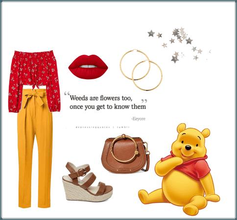Stylish Winnie the Pooh