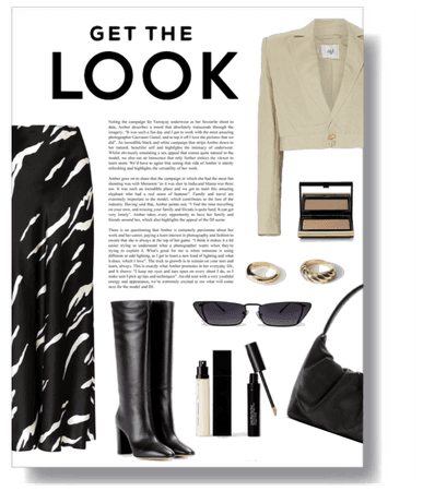 Get the Look: Crop Blazer