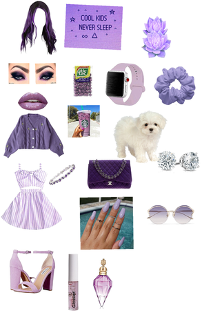purple outfit 💜