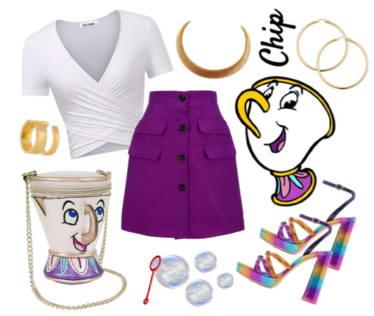 Chip outfit - Disneybounding - Disney