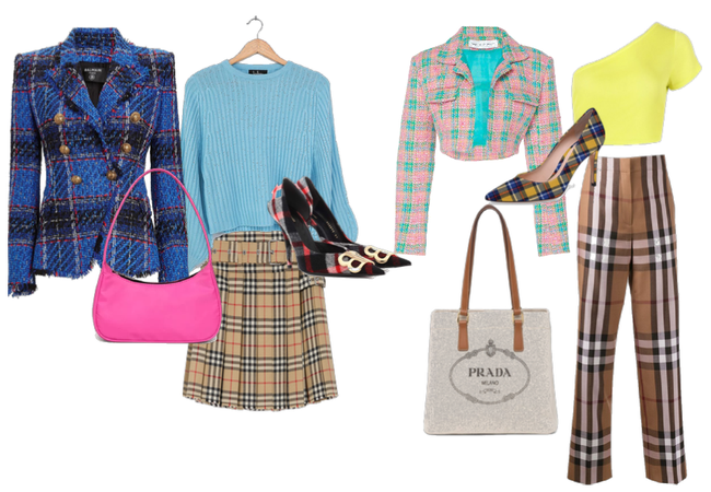 plaid items nailing