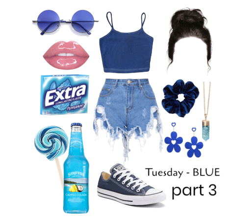 cool down // Monochromatic outfit - BLUE prt3