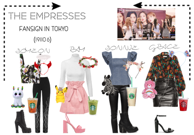 [THE EMPRESSES] FANSIGN IN TOKYO
