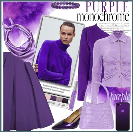 Purple Monochrome