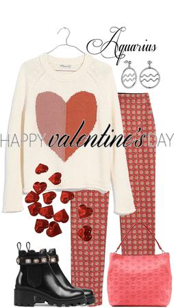 Aquarius on Valentine's Day