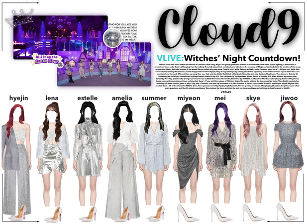 Cloud9 (구름아홉) | VLIVE: Witches' Night Countdown!