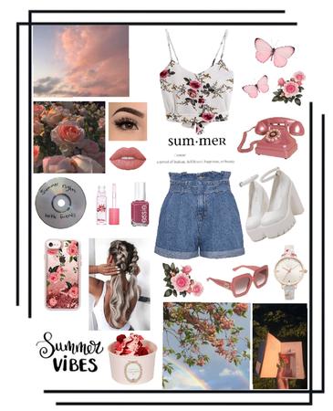 Summer vibes🌸🌅
