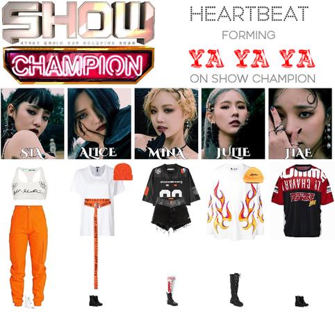 [HEARTBEAT] 200506 SHOW CHAMPION STAGE | 'YA YA YA'