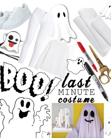 Last Minute Ghost Costume