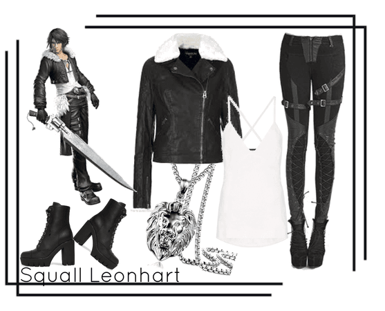 Kinda Cosplay-Squall Leonhart