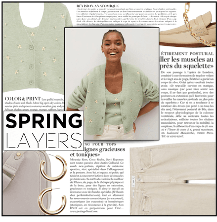 Fashion File: Spring Layers Of Light Green - Contest