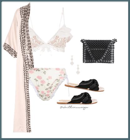pink + black belong together