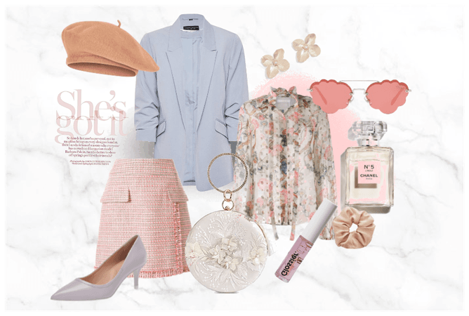 pretty in pink inspired outfit