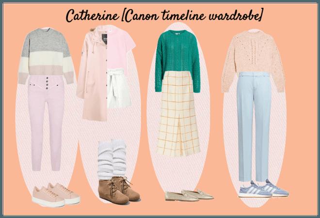 [S/I] Catherine Arwood Canon Timeline wardrobe