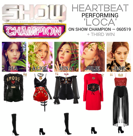 [HEARTBEAT] SHOW CHAMPION STAGE | 'LOCA'