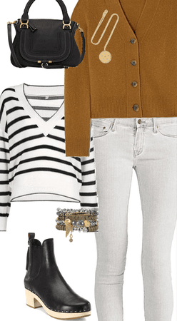 light grey jeans outfit