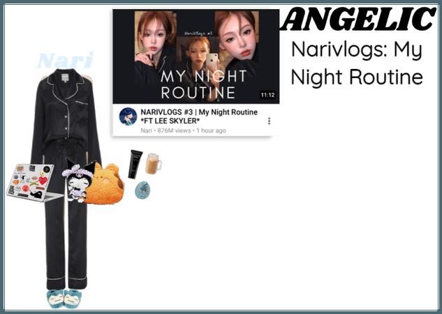 나리 (Nari) Narivlogs: My Night Routine