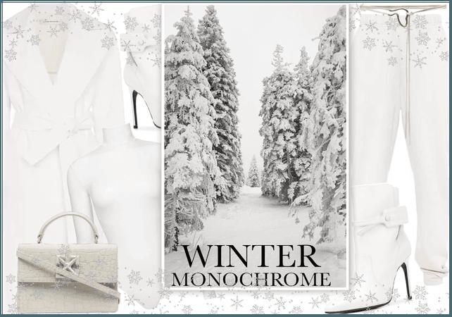 Off White Monochrome Winter