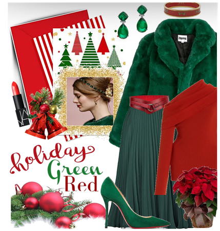 Holiday Trend: Green & Red