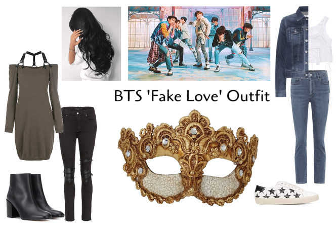 BTS 'Fake Love' Female Outfit