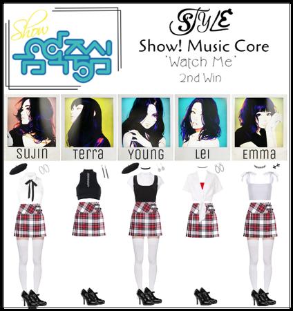 Show! Music Core 'Watch Me' 2nd Win