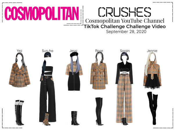 Crushes (호감) TikTok Challenge | Cosmopolitan