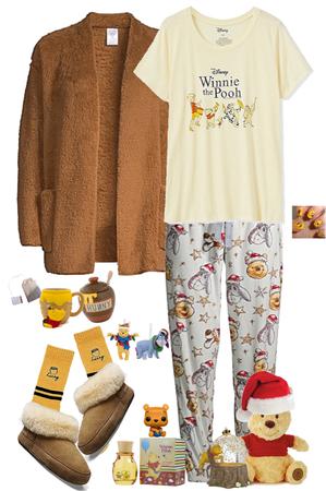 Cute & Cozy Pooh