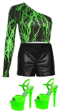 Neon Music Video Outfit #4