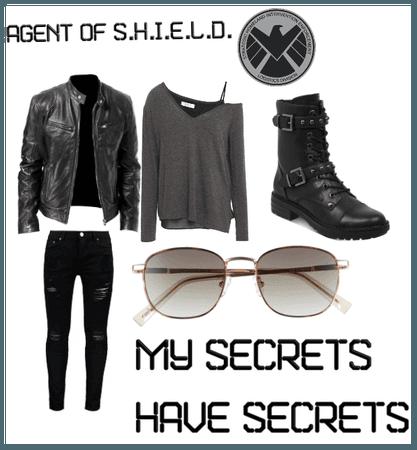 Agent of S.H.I.E.L.D. DisneyBound